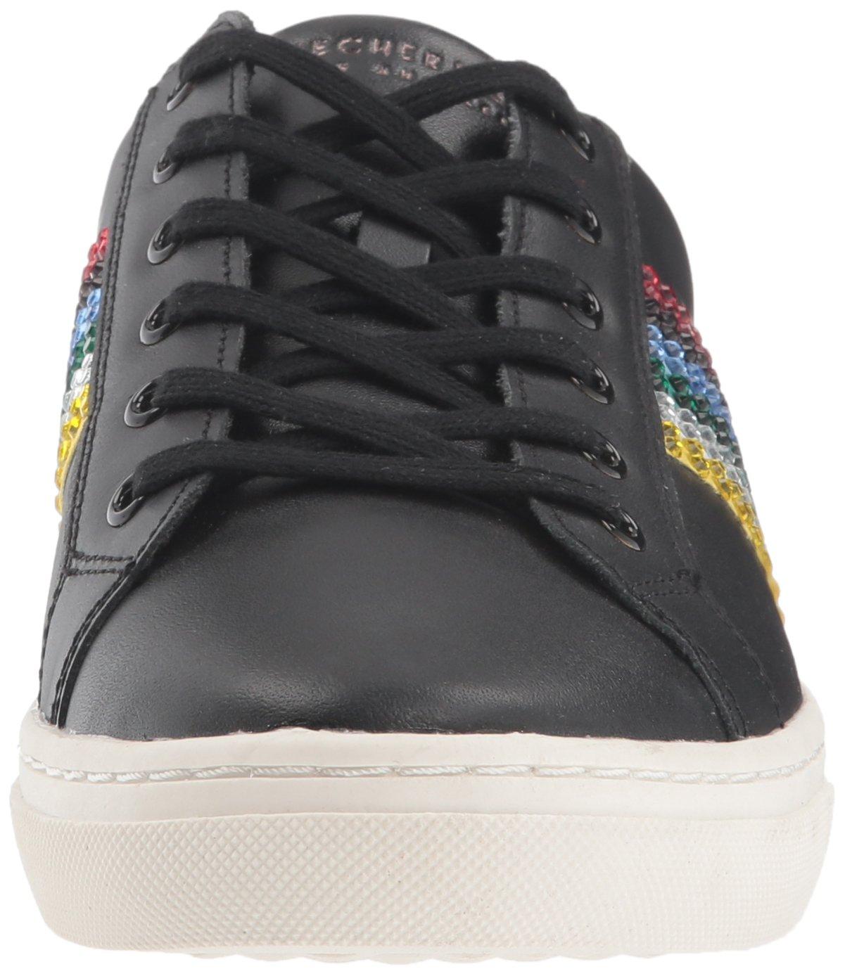 Skechers Women's Goldie-Rainbow Sneaker B0781VZZPG 11 B(M) US Black