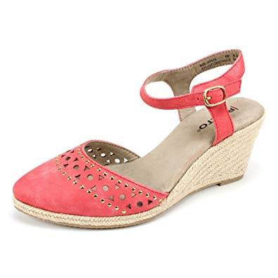 adc73c985ca Rialto Womens Constance Red 9 B - Medium  Amazon.co.uk  Shoes   Bags