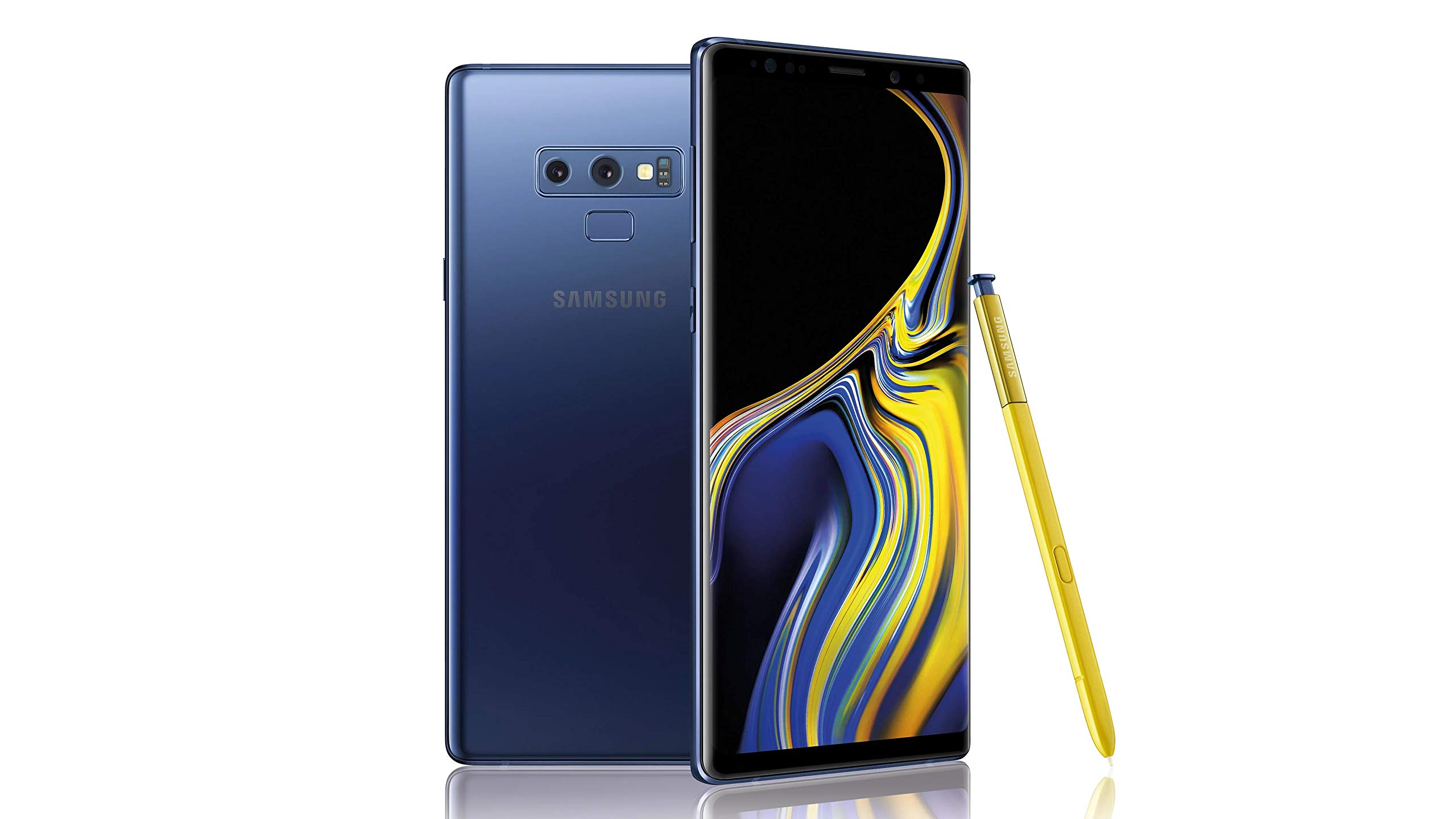 Samsung Galaxy Note9 Factory Unlocked Phone with 6.4in Screen and 512GB (U.S. Warranty), Ocean Blue (Renewed)