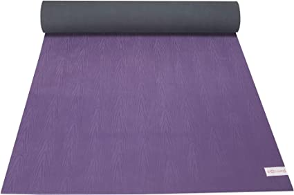 Amazon Com Sol Living Premium Extra Thick Nonslip All Natural Rubber Pilates Fitness Woutout Exercise Yoga Mat Purple Sports Outdoors