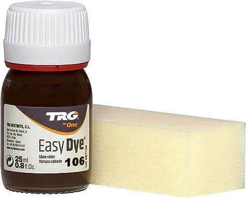 TRG The One - Tinte para Calzado y Complementos de Piel | Tintura para zapatos de Piel, Lona y Piel Sintética con Esponja aplicadora | Easy dye #106 ...