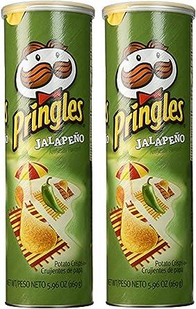 Pringles Jalapeño Potato Crisps 5.96 oz - 2 pack: Amazon.es ...