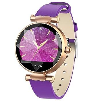 NUO-Z Gimnasio Rastreador Reloj Inteligente Actividad Deportes de Moda Relojes de Pulsera de Lujo IP67 Starry Sky Dial para Android iOS: Amazon.es: Deportes ...