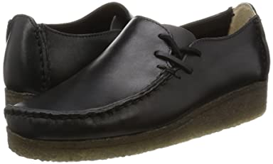 Lugger: Black Smooth Leather