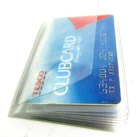 Ricambio Porta Carte di Credito Plastica Maniche Inserti Per