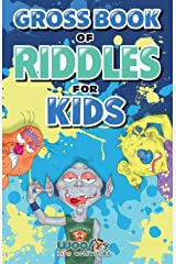 Gross Book of Riddles for Kids: Hilariously Disgusting Fun Jokes for Family Friendly Laughs (Woo! Jr. Kids Activities Books) Paperback
