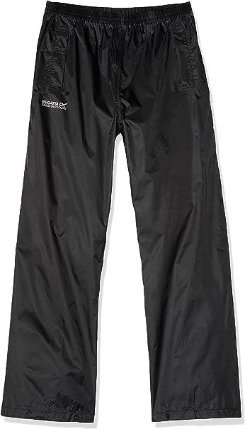 Regatta Pantal/ón Packaway Ligero Impermeable Y Transpirable Overtrousers Hombre