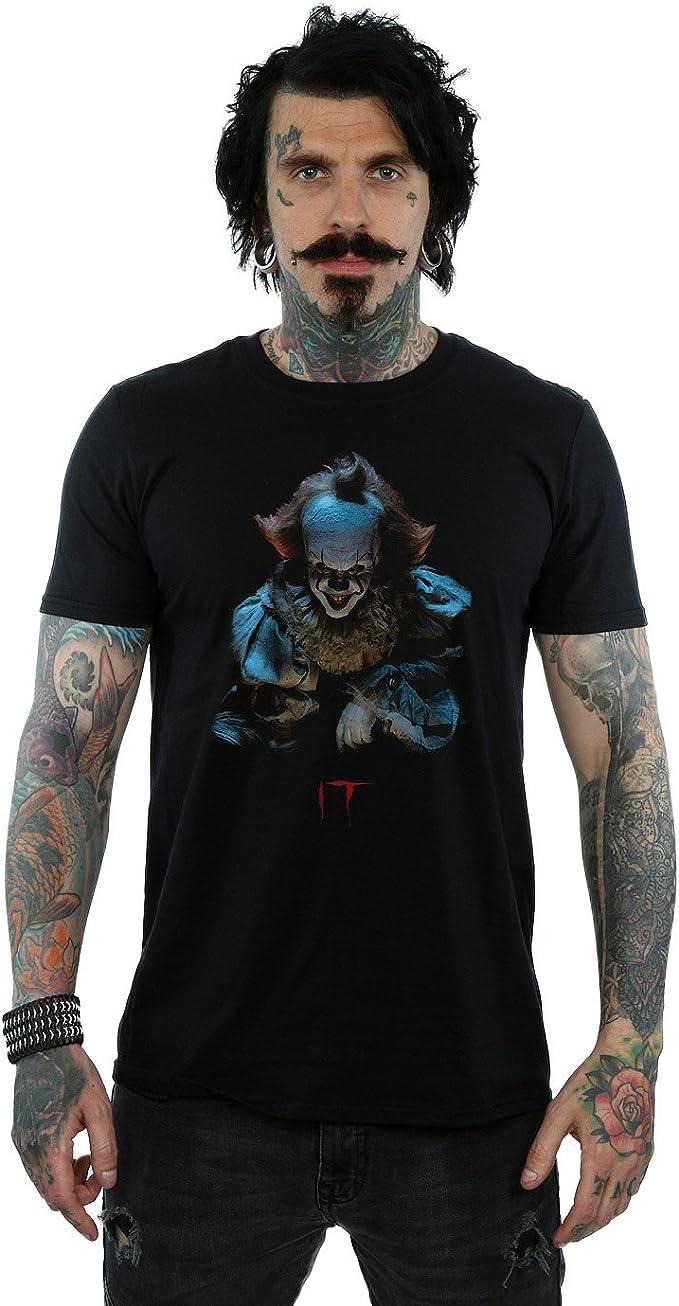 It Hombre Pennywise Grin Camiseta XXX-Large Negro: Amazon.es: Ropa y accesorios