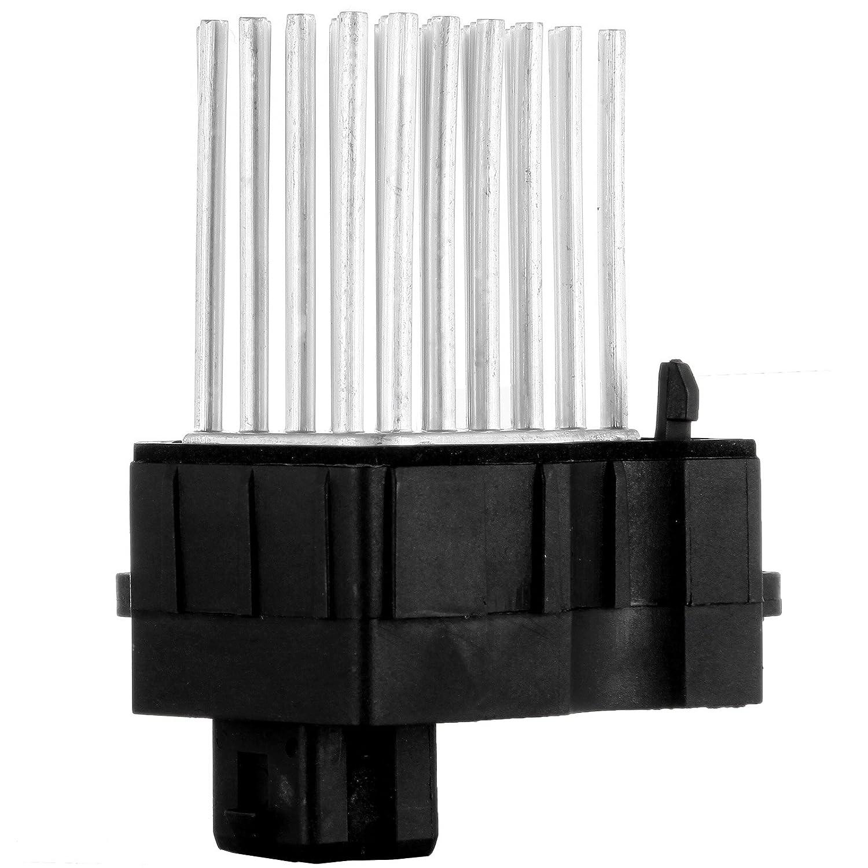 cciyu HVAC Blower Motor Resistor Fan Heating and Air Conditioning Blower Motor Resistor AC Blower Control Module fit for BMW 323Ci// 328Ci// 328i// 323i// 325i// 325xi//330i// 330xi// 525i//528i// 530i//540i//M3