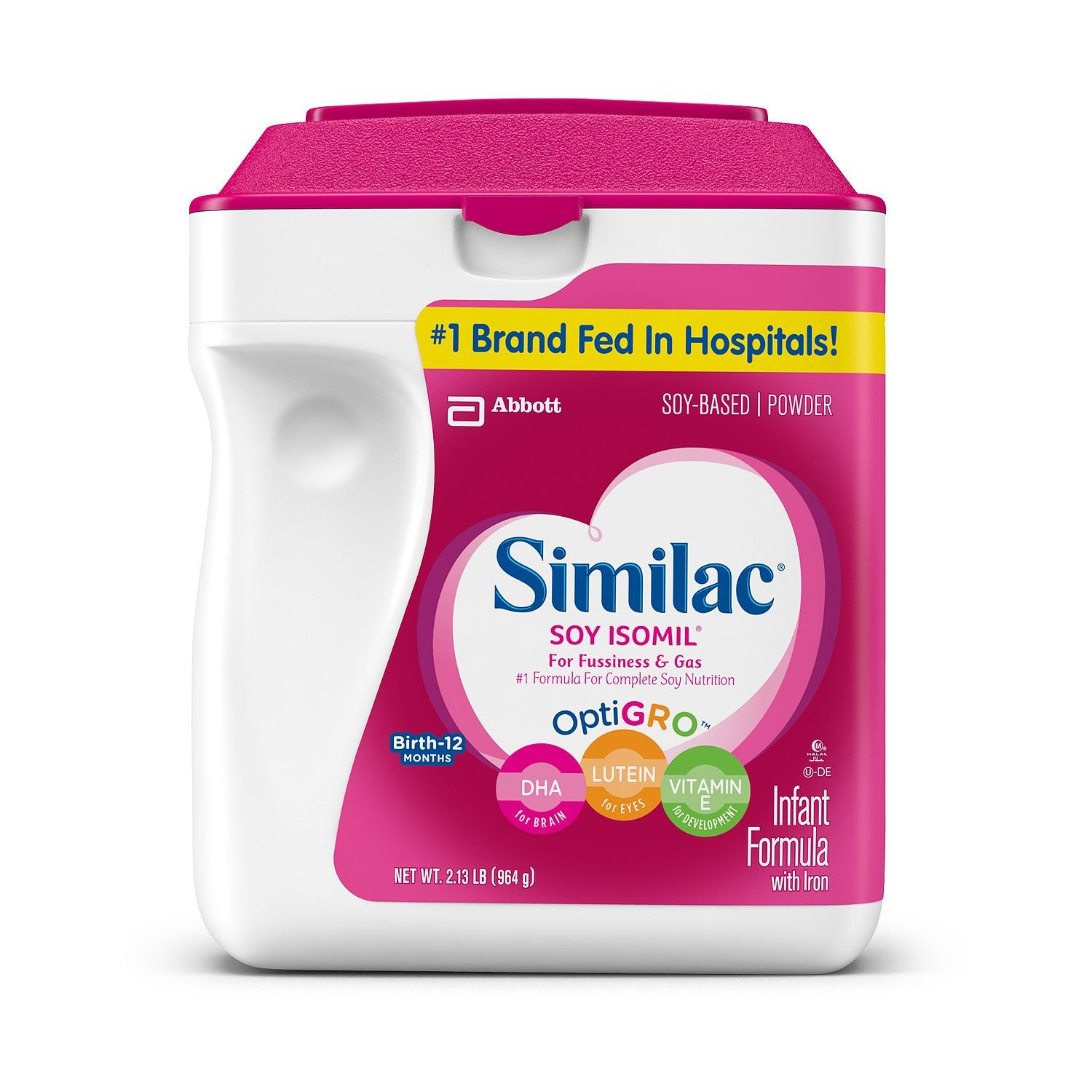 Similac - Soy Isomil Infant Formula, 34 oz. - 2 pk