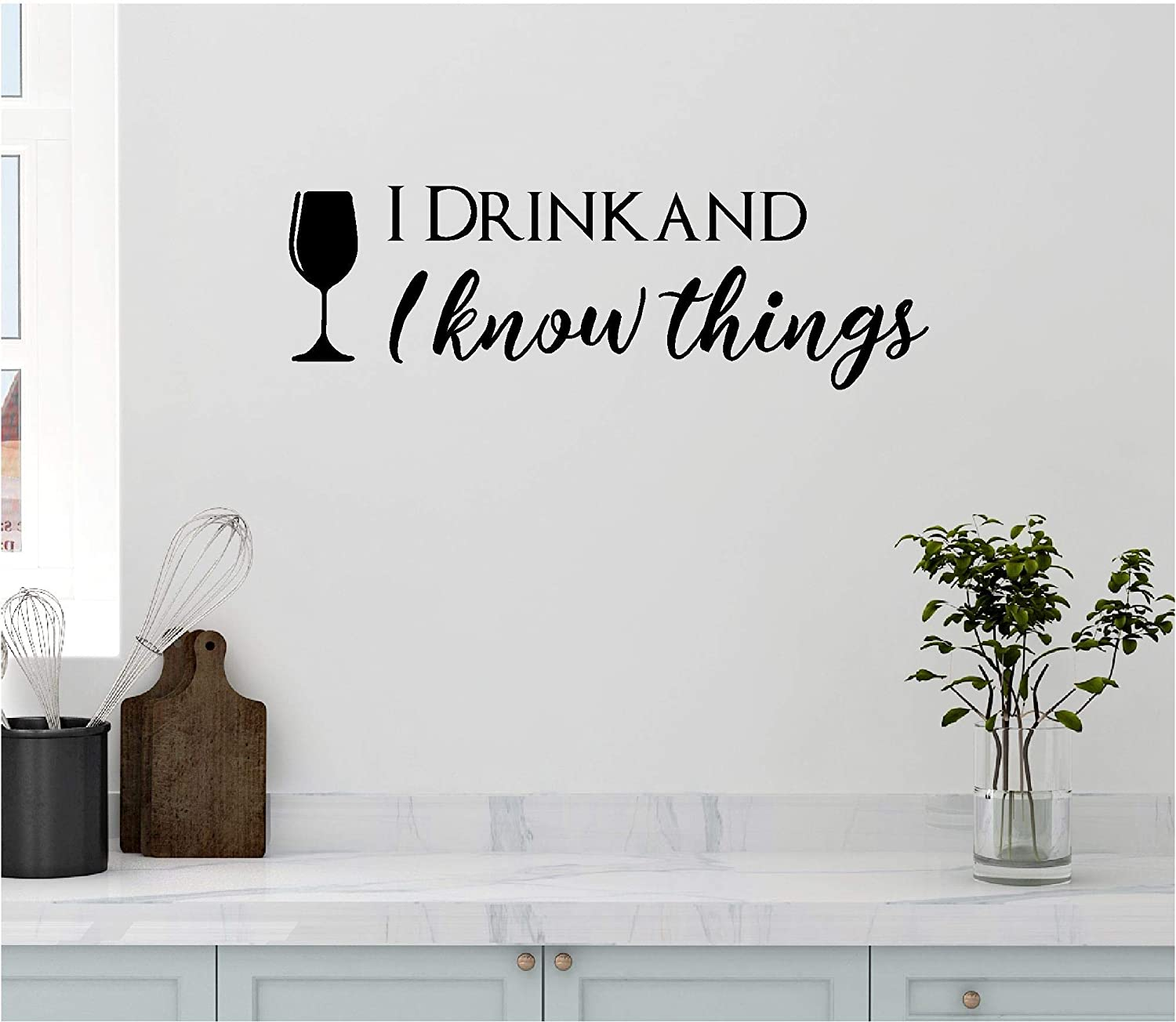 Amazon Com Personalized Custom Got I Drink And I Know Things Wall