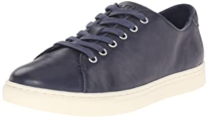 Lauren Ralph Lauren Women's Waverly Fashion Sneaker, Modern Navy, 7 B US