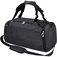 Gym Duffle Bag Waterproof Travel Weekender Bag for Men Women Duffel Bag Backpack with Shoes Compartment Overnight Bag 40L