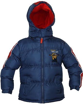 Kinder Winterjas.Minions Kinder Winterjas Dave Blauwgrijs Amazon Co Uk Clothing