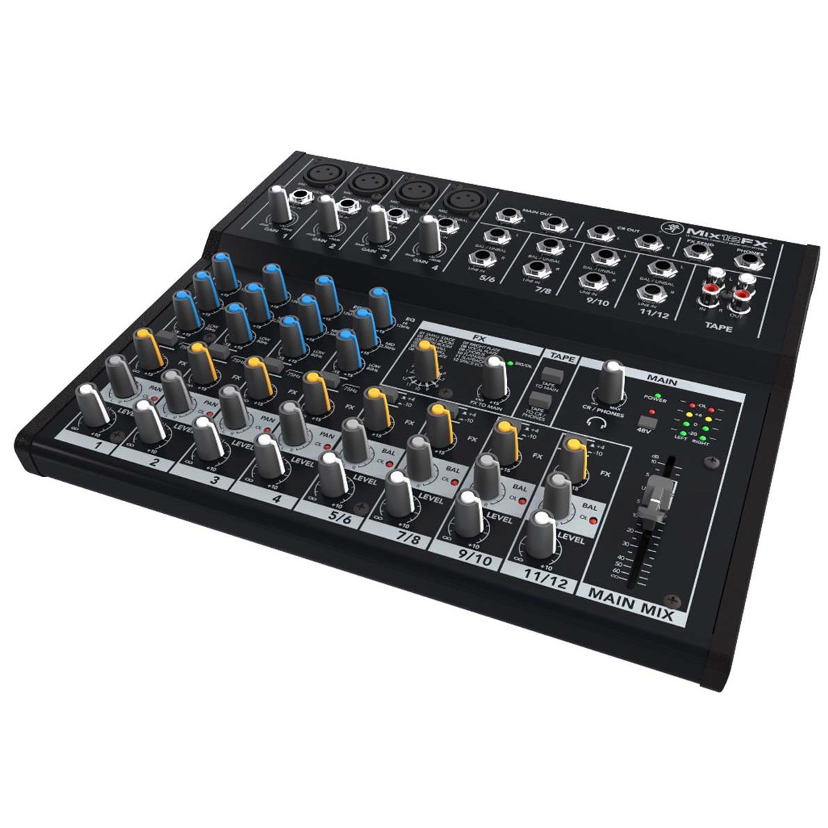 Mackie Mix Series Mix12FX 12-Channel Effects Mixer