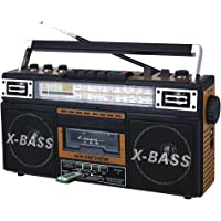 QFX AM/FM/SW1-SW2 4 Band Radio and Cassette to MP3 Converter