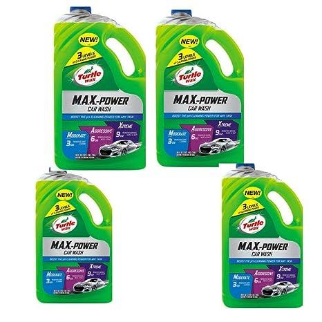 Amazon Com Turtle Wax 50597 Max Power Car Wash 100 Oz 4 Pack