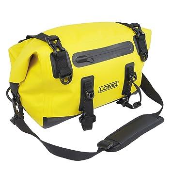 Bolsa impermeable Lomo de 15 l para el portaequipajes de la bicicleta; bolsa de ciclismo