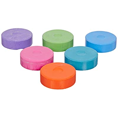 Sax Giant Tempera Cakes - Six Color Set - Secondary Colors - Refill Set (Without Plastic Tray): Industrial & Scientific