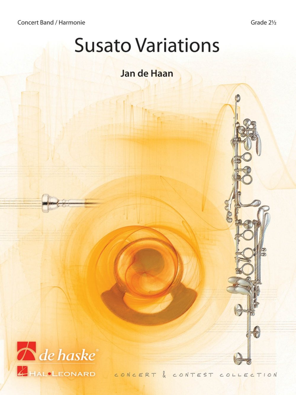 De Haske Music Susato Variations Concert Band Level 3 Composed by Jan de Haan pdf epub