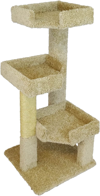 Amazon Com New Cat Condos 110111 Cat Tree Beige Pet Supplies