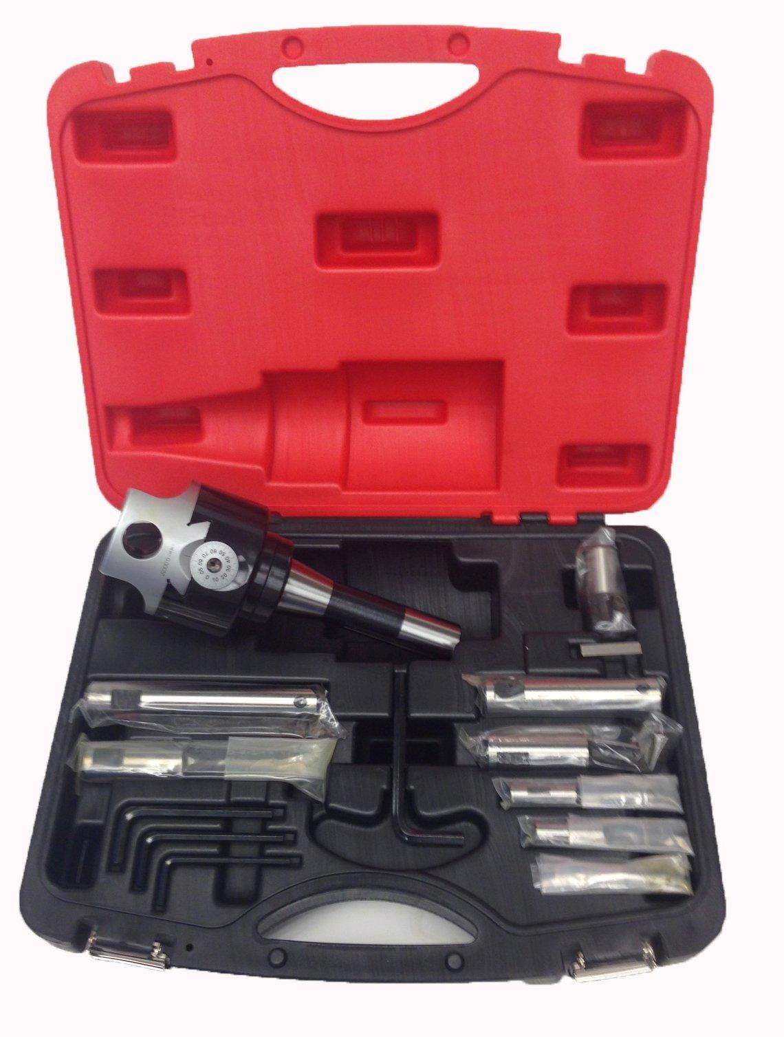 HHIP 3800-5940 R8 3 Inch Head Boring Tool Set