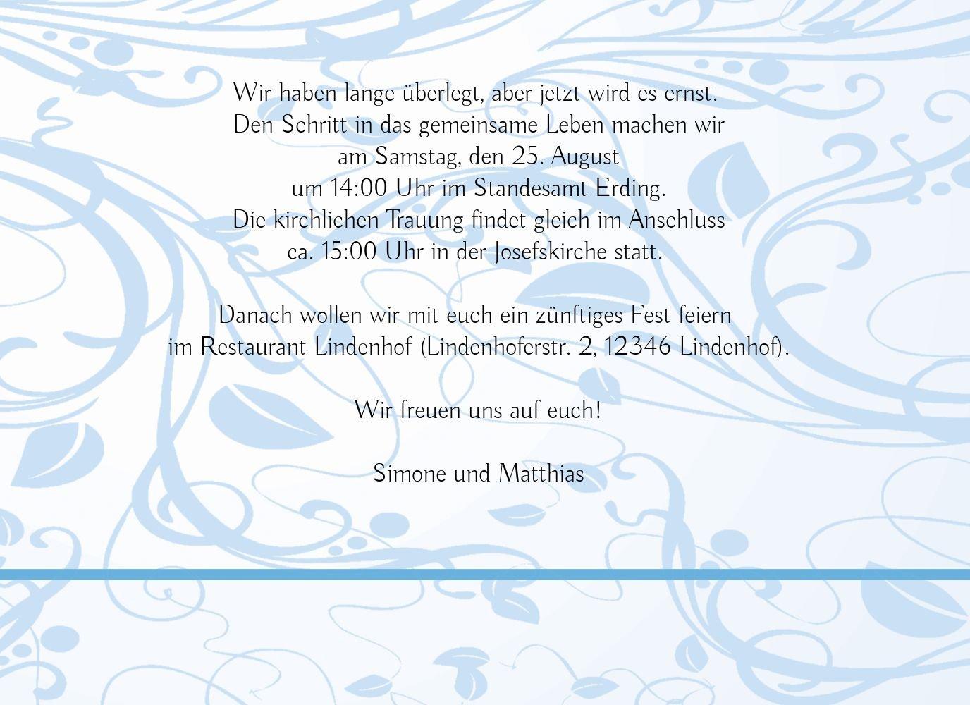 Kartenparadies Hochzeitskarte Hochzeit Hochzeit Hochzeit Einladung Blättertraum 2, hochwertige Einladung zur Heirat inklusive Umschläge   10 Karten - (Format  148x105 mm) Farbe  Schwarz B01MS9MKUI | Online Store  | Moderne Muster  | Günstige  955b2a