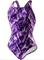 Speedo Womens Athletic Modest Coverage One Piece Swimsuit