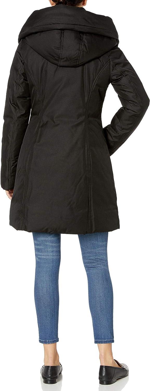 SoiaKyo womens Camelia-n Ladies Hooded Down Coat Down Coat