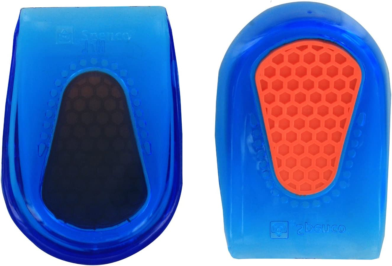 Spenco Gel Heel Cup Shoe Inserts for Pain Relief from Heel Spurs or Bruising, Small/Medium: Health & Personal Care