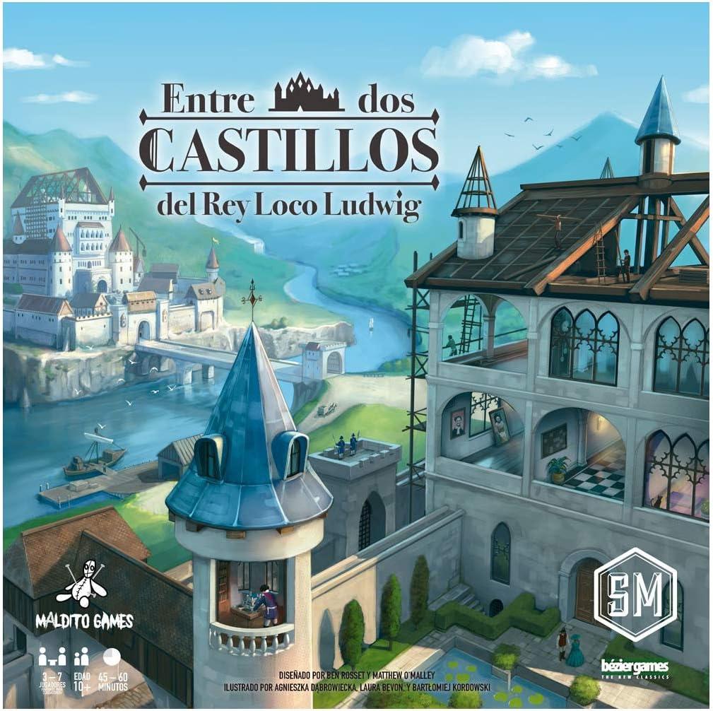 Maldito Games Entre Dos Castillos del Rey Loco Ludwig - Juego de ...