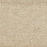 Heavy Basket Linen Beige 75 x 84 inch Cotton Shower Curtain, Unlined
