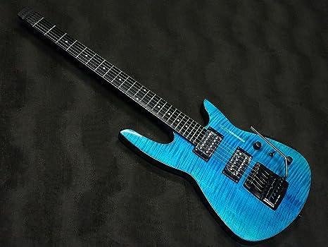 Used Steinberger zt-3 Custom Trans azul guitarra eléctrica