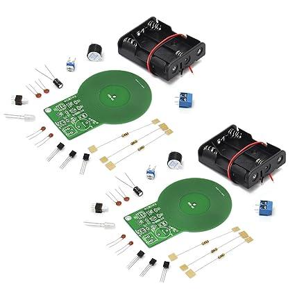 Gikfun MDS-60 - Módulo detector de metales para kit de soldadura Arduino DIY (