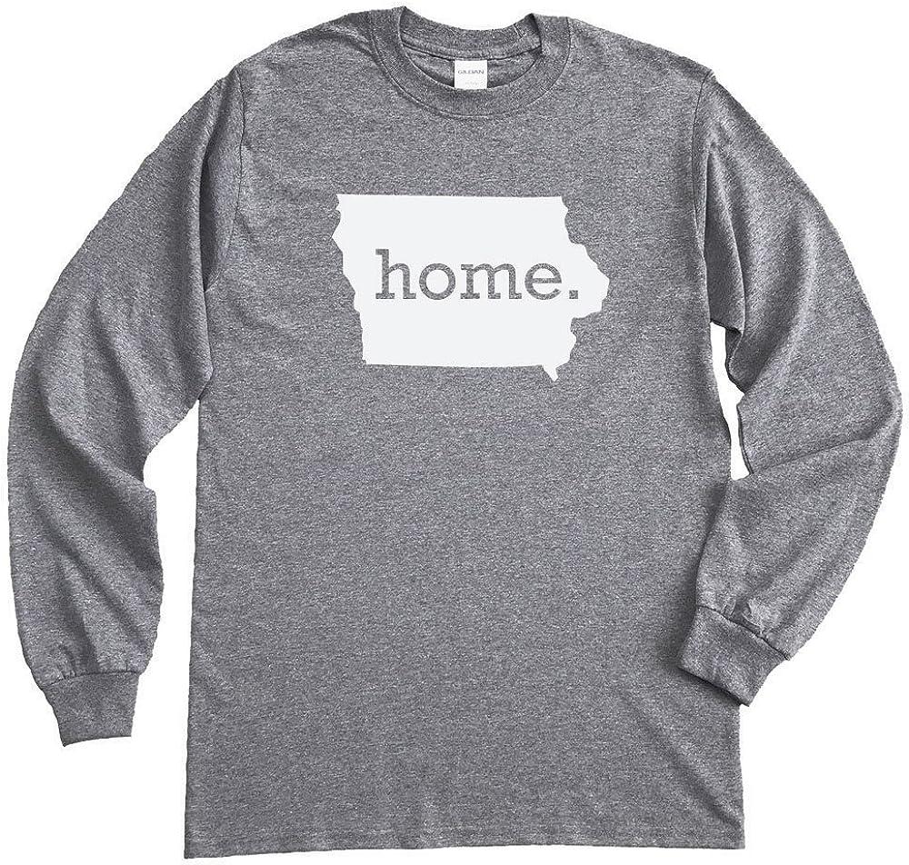 Homeland Tees Iowa Home Long Sleeve T-Shirt