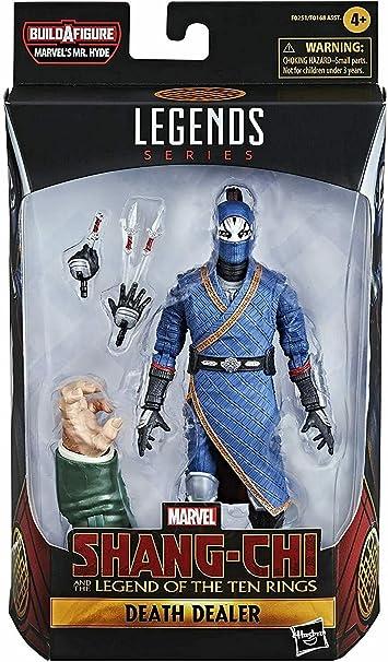NEW SEALED 2021 Marvel Legends Shang-Chi Ten Rings Death Dealer Action Figure - Movie Figurines