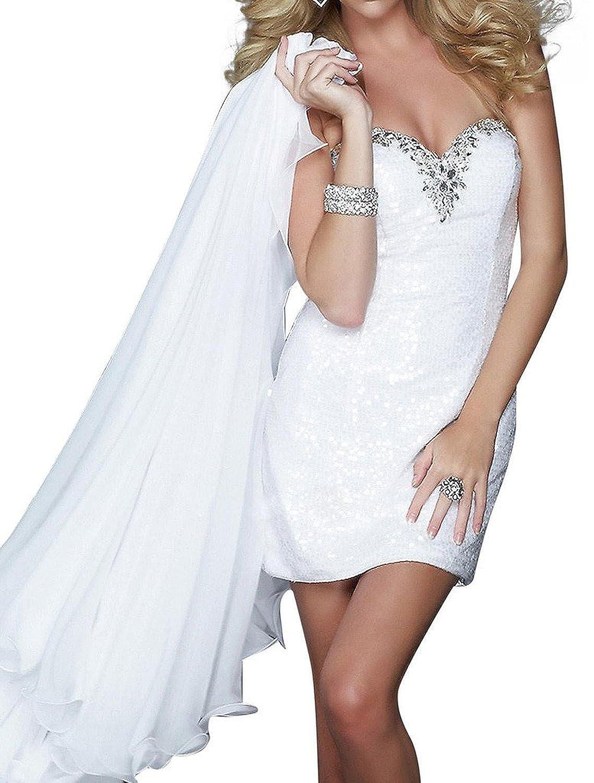Fanciest Women's Two Pieces Lace Wedding Dresses with Detachable Train