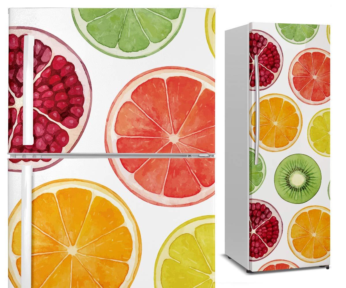 DON LETRA Vinilo Adhesivo para Nevera Fricorífico, Frutas, 200 x ...