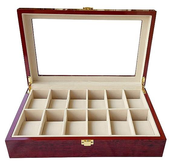 Bearhouse Caja para Relojes Madera Estuches Guardar Relojes ...