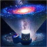 Kids Night Light Projector - Star Light Projector with USB Cable, 360 Degree Rotation Kids Star Projector Lamp Bedroom…