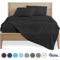 Bare Home Kids Twin Sheet Set - 1800 Ultra-Soft Microfiber Bed Sheets - Double Brushed Breathable Bedding - Hypoallergenic – Wrinkle Resistant - Deep Pocket (Twin, Charcoal)