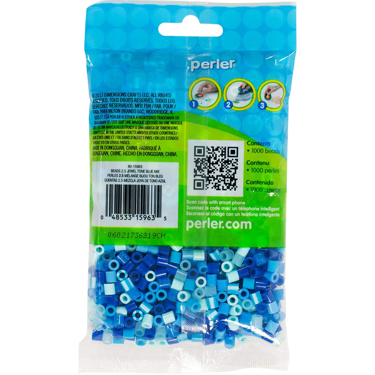Perler 80-15968 Assorted Unicorn Color Fuse Beads Mix