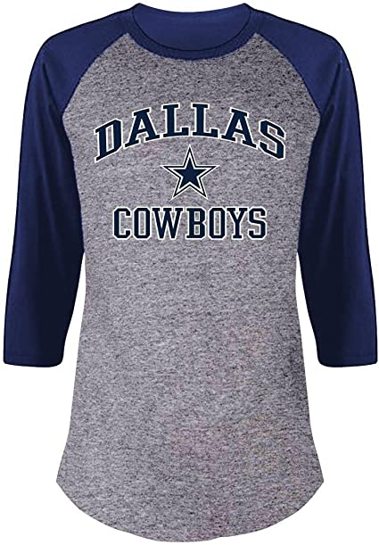 Dallas Cowboys Star Football Loose Fitted V Neck