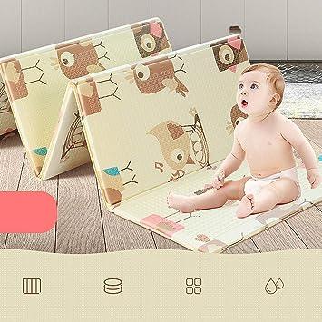 Rutschfest Baby Spielmatte Faltbar Gr/ün SHACOS Babymatte Baby Teppich Krabbelmatte XPE Gro/ß Spielteppich Baby Wasserdicht Tragbar Beidseitig 180x200x1.5 cm