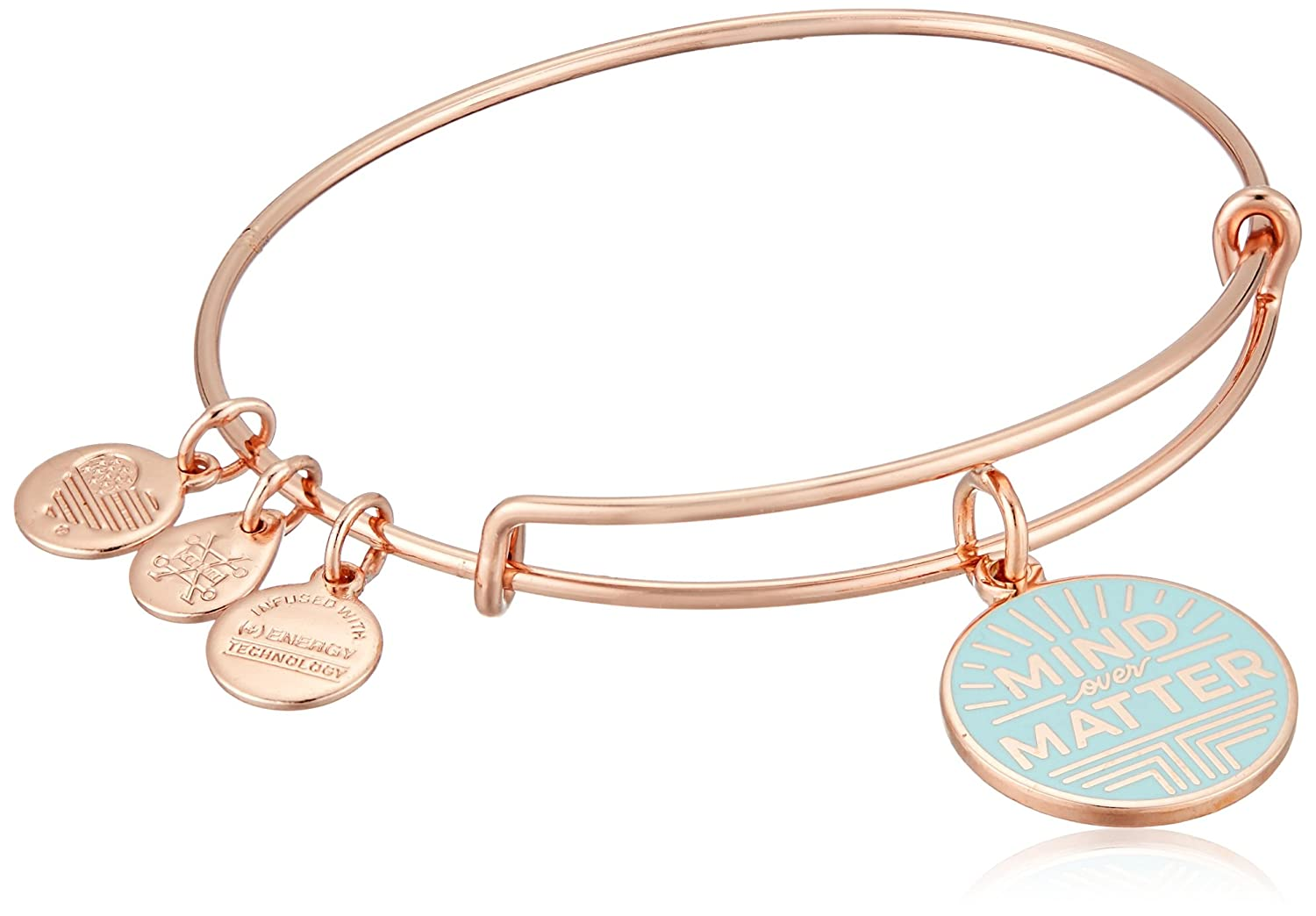 Alex and Ani Words are Powerful, Mind Over Matter EWB Bangle Bracelet A17EBWAP08SR