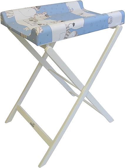 Geuther Table /à/Langer Pliable Trixi Blanche Matelas Coloris Z/èbre