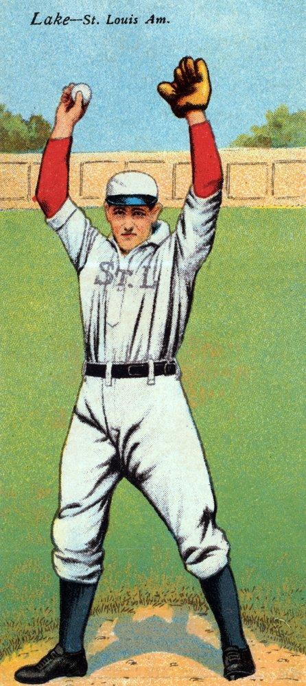 セントルイスBrowns – Joseph湖 – 野球カード 36 x 54 Giclee Print LANT-23149-36x54 B01MG3J1M5  36 x 54 Giclee Print