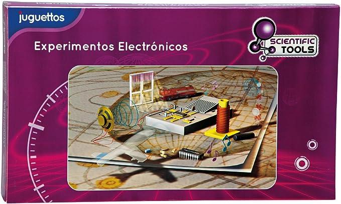 Scientific Tools Experimentos Electrónicos: Amazon.es: Juguetes y juegos