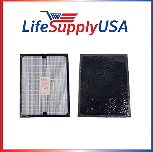 LifeSupplyUSA 4 Pack Filtro HEPA de Repuesto Compatible con Todas ...