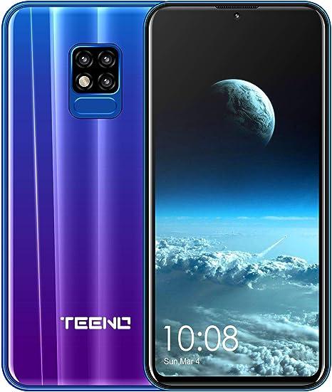 Teeno - Smartphone 4G de 6,2 Pulgadas, 3 GB de RAM, 32 GB de ROM ...